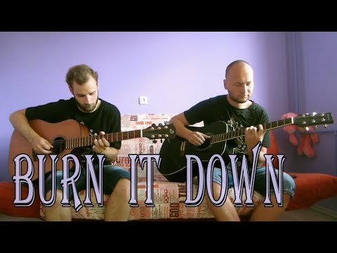 Linkin Park – Burn It Down (acoustic guitar cover, tabs)