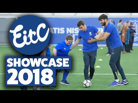 Video: EVERTON IN THE COMMUNITY SHOWCASE 2018 | FULL SQUAD PLEDGE SUPPORT TO CLUB CHARITY