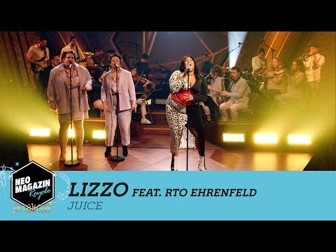 "Lizzo feat. RTO Ehrenfeld - ""Juice"" | NEO MAGAZIN ROYALE in Concert - ZDFneo"