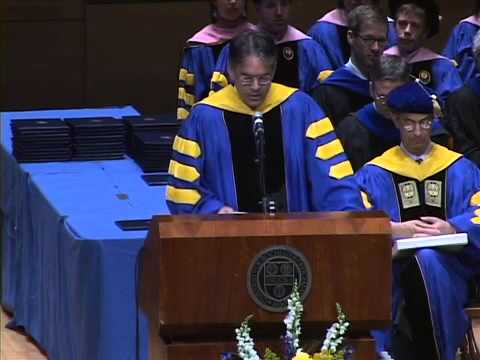 Dean Douglas Lowry's Commencement Address