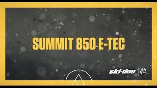 4. 2017 Ski-Doo : The Summit 850 E-TEC