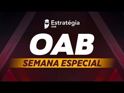 Semana Especial OAB: Direito Processual Civil
