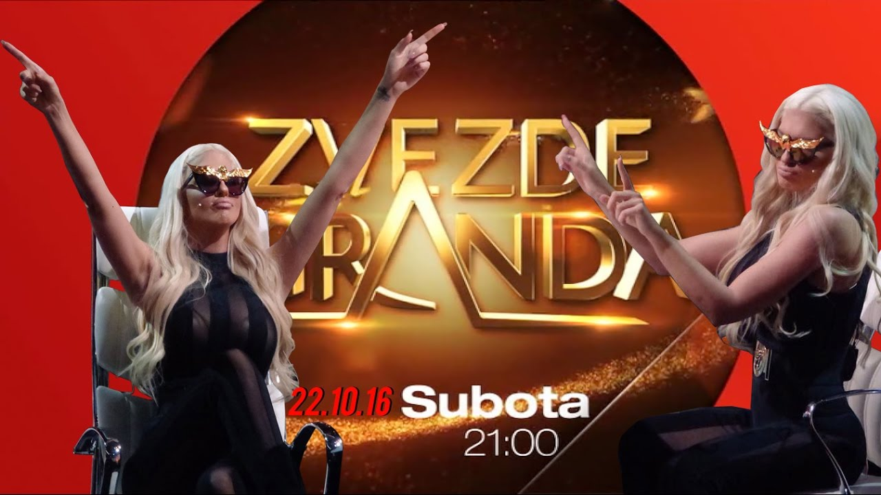 ZVEZDE GRANDA 2016 – 2017 – peta emisija – 22. 10. – najava