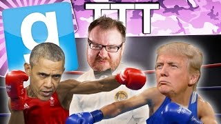 TRUMP vs OBAMA - Gmod TTT (Garry's Mod Funny Moments)