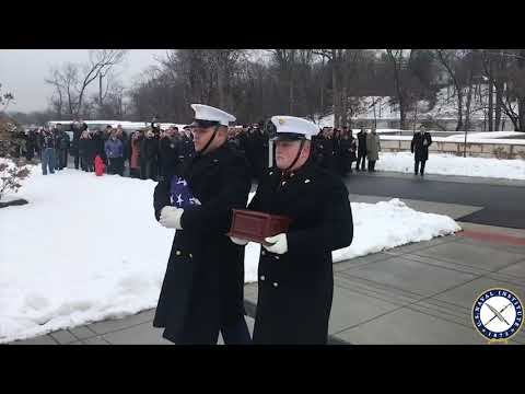 USNI News Video: R. Lee Ermey Buried in Arlington National Cemetery