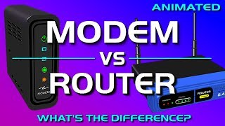 Video Modem vs Router - What's the difference? MP3, 3GP, MP4, WEBM, AVI, FLV September 2019
