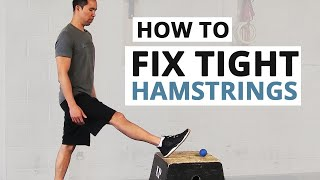 Video How to Fix Tight Hamstrings (HINT: Static Stretching Doesn't Work) MP3, 3GP, MP4, WEBM, AVI, FLV Agustus 2019
