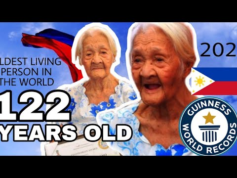 THE OLDEST PERSON IN THE WOLRD IS A FILIPINA || 122 YRS OLD! || LOLA FRANCISCA MONTES SUSANO