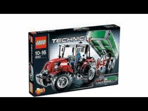 Video Video ad on the Technic Set 8063 Tractor With Trailer