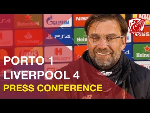 Porto 1-4 Liverpool (1-6 Agg) | Jurgen Klopp's Post-Match Press Conference
