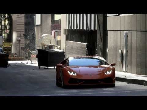 Lamborghini Huracan caught on video shoot in U.S.