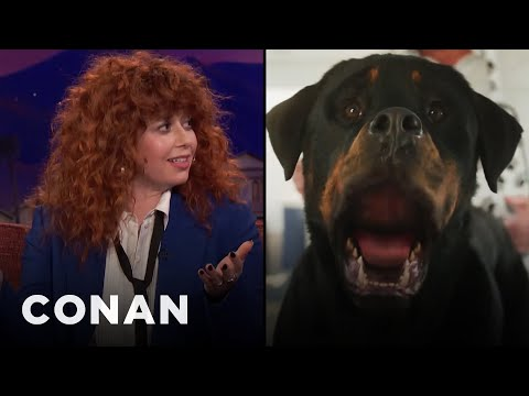 Natasha Lyonne Is Excited To Be In One Of The Great Talking-Dog Pictures  - CONAN on TBS