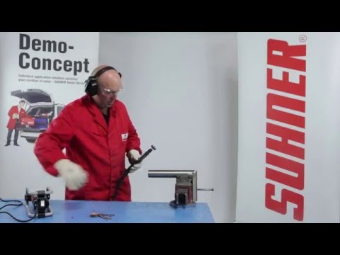 Lightweight Round Bar and Tube Finishing with Suhner Polishing Tools