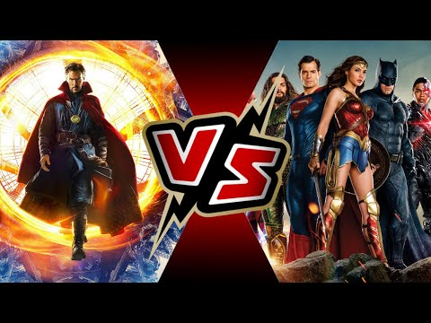 Dr. Strange VS Justice League | BATTLE ARENA