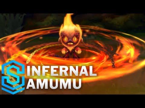 Amumu Hỏa Ngục - Infernal Amumu Skin