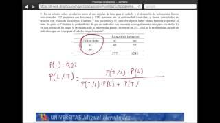 Umh2072 2013-14  Unidad 2 Conceptos De Probabilidad Y Test De Diagnóstico. Problema 9