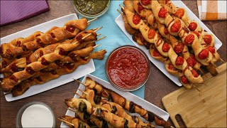3 Ways To Eat Delicious Pizza On A Stick •Tasty by Tasty