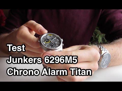 Test Junkers 6296   Junkers Uhren   Junkers Chronograph
