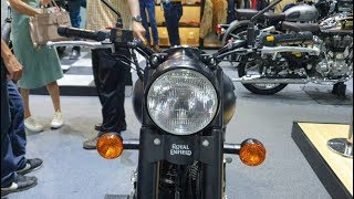 6. Royal Enfield Classic Stealth Black