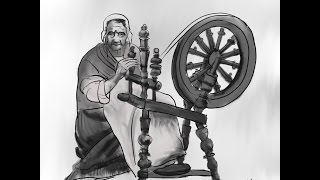 Daily sketch 0033 - How to Draw A Spinning Wheel