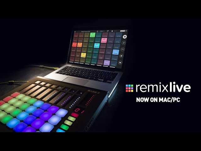 Remixlive for Mac/PC - Introduction