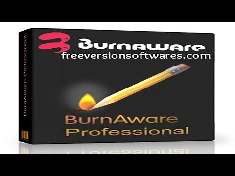 BurnAware Professional-запись CD и DVD дисков
