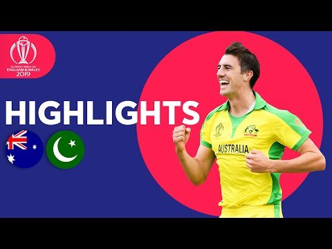 Warner Hits Hundred! | Australia vs Pakistan - Match Highlights | ICC Cricket World Cup 2019