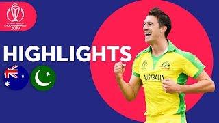 Australia vs Pakistan - Match Highlights | ICC Cricket World Cup 2019