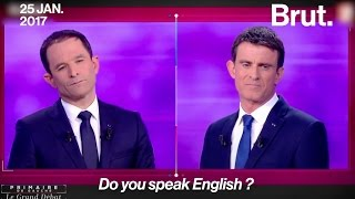 Video Do you speak english ? Les politiques français parlent anglais MP3, 3GP, MP4, WEBM, AVI, FLV Mei 2017