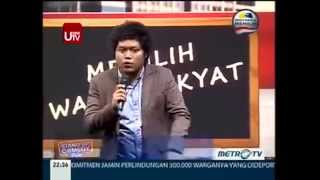 Jui Purwoto @ Stand Up Comedy Show MetroTV 15 April 2014