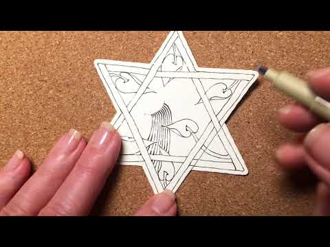 Zentangle® Project Pack #02 - Day Eleven