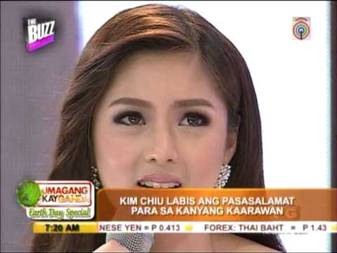 kim - MANILA, Philippines -- Actress Kim Chiu revealed that she received a promise ring from rumored boyfriend, actor Xian Lim, for her birthday.