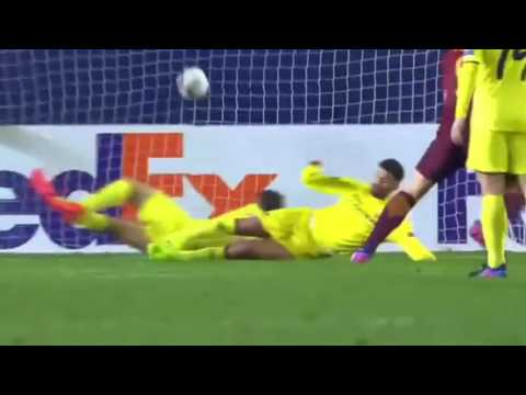 Villarreal vs AS Roma 0 - 4 All Goals & Highlights   Europa League