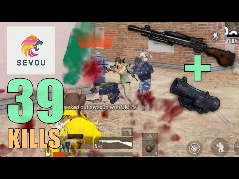 DP-28 IS THE BEST SNIPER!!! | 39 KILLS | SQUAD | PUBG Mobile