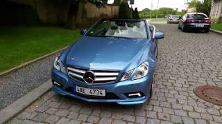 Mercedes E350 CDI Cabrio AUTOMAT