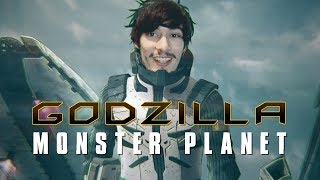 Nonton Godzilla  Monster Planet  2017  Film Review Godzilla Anime Film Subtitle Indonesia Streaming Movie Download