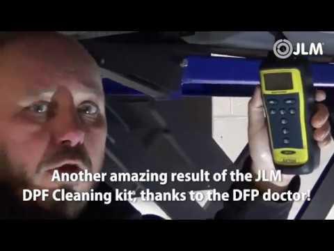 JLM Lubricants  Diesel roetfilter reinigings-vloeistof