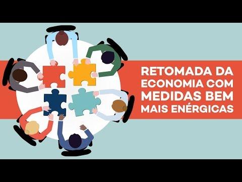 Caio Narcio: atitudes enérgicas para a retomada econômica