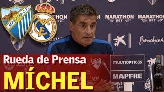 Video Málaga - Real Madrid   Rueda de Prensa de Míchel   Diario AS MP3, 3GP, MP4, WEBM, AVI, FLV Desember 2017