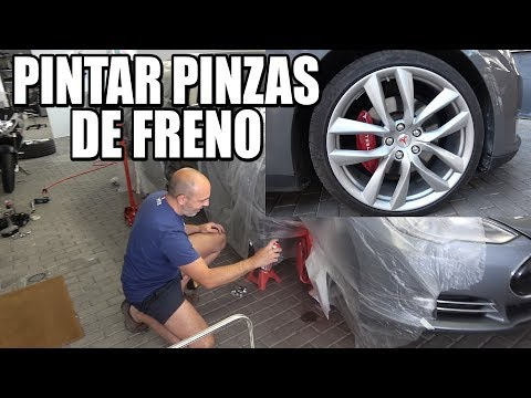 CÓMO PINTAR LAS PINZAS DE FRENO DE UN TESLA