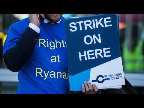 Ryanair: Streik von Mitarbeiten - 250 Flüge fallen aus