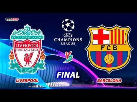 PES 2019 | Liverpool Vs Barcelona | UEFA Champions League FINAL | Penalty Shootout | PC