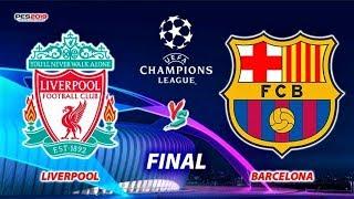 Liverpool vs Barcelona | UEFA Champions League FINAL | Penalty Shootout | PES 2019