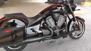 1. 029018 - 2014 Victory 8 Ball Cross Roads - Used Motorcycle For Sale