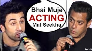 Video Ranbir Kapoor ANGRY Reply To Salman Khan For Insulting Sanju Movie Trailer MP3, 3GP, MP4, WEBM, AVI, FLV Agustus 2018