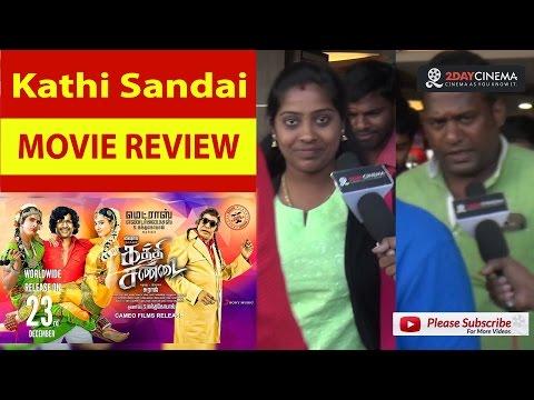 Kaththi Sandai Movie Review | Vishal | Tamannaah - 2DAYCINEMA.COM