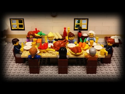 A Brilliant LEGO StopMotion Tale of an Overcooked Thanksgiving Meal That Brought Neighbors