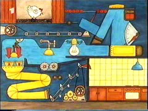 Die Sendung mit der Maus - Mausspot - Eiermaschine - 80er Jahre
