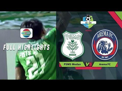 Download Video PSMS Medan (2) Vs Arema FC (0) - Full Highlight | Go-Jek Liga 1 Besama Bukalapak