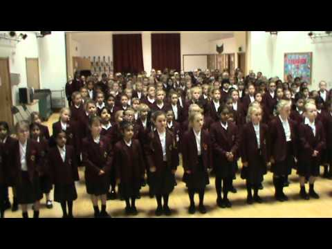 Junior Girls Sing 'Remember' for Armistice Day